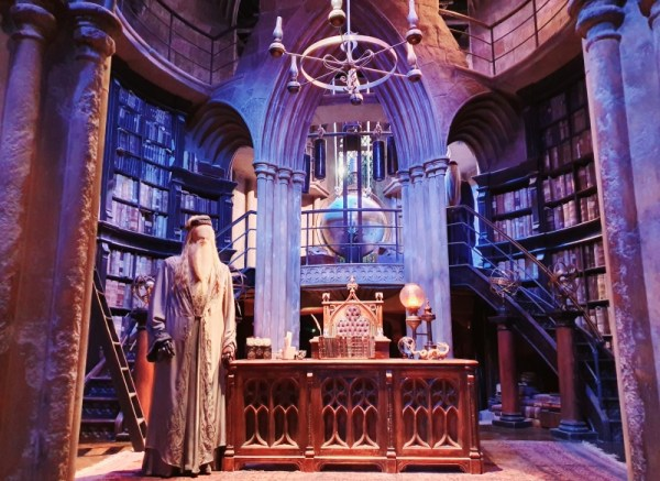 Dumbledore's Study at the Warner Brothers Harry Potter Studio Tour