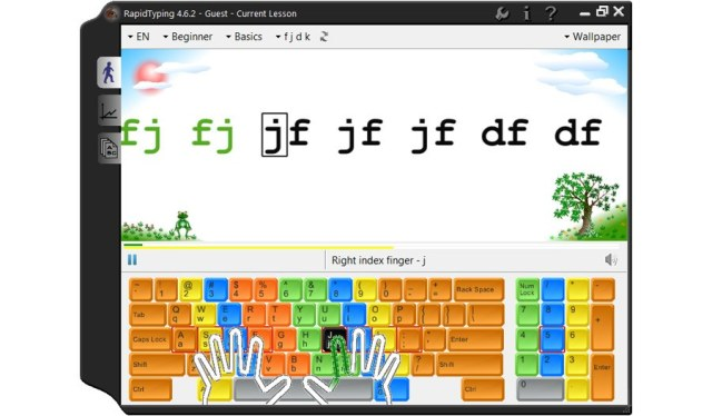 Touch Rapid Typing Tutor, Download Touch Rapid Typing Tutor