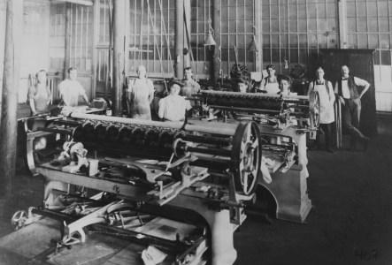 Ouvriers de la Dominion Textile, Magog