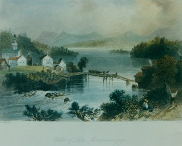 Canadian Scenery, W.H. Bartlett, 1842.