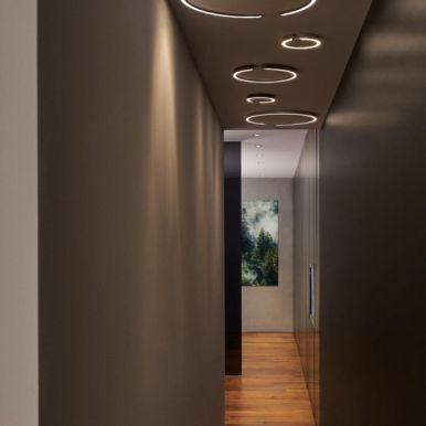 Indirecte verlichting via plafond