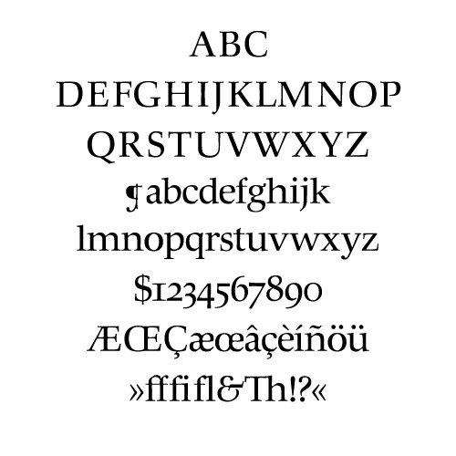 Hunt Roman Typeface by Hermann Zapf