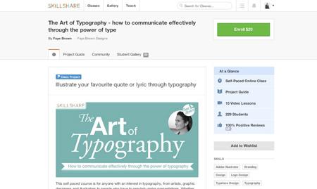 skillshare-typography