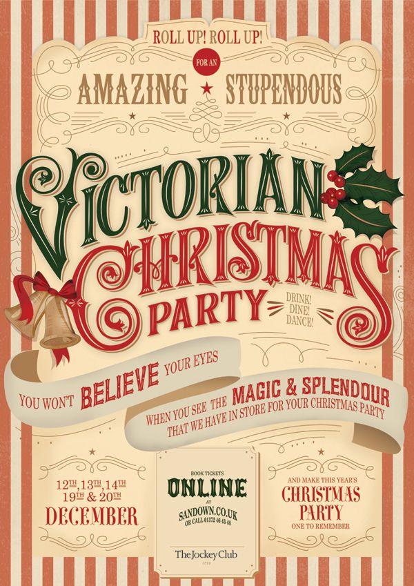 Can Anyone Tell Me What Font Victorian Christmas Party Is