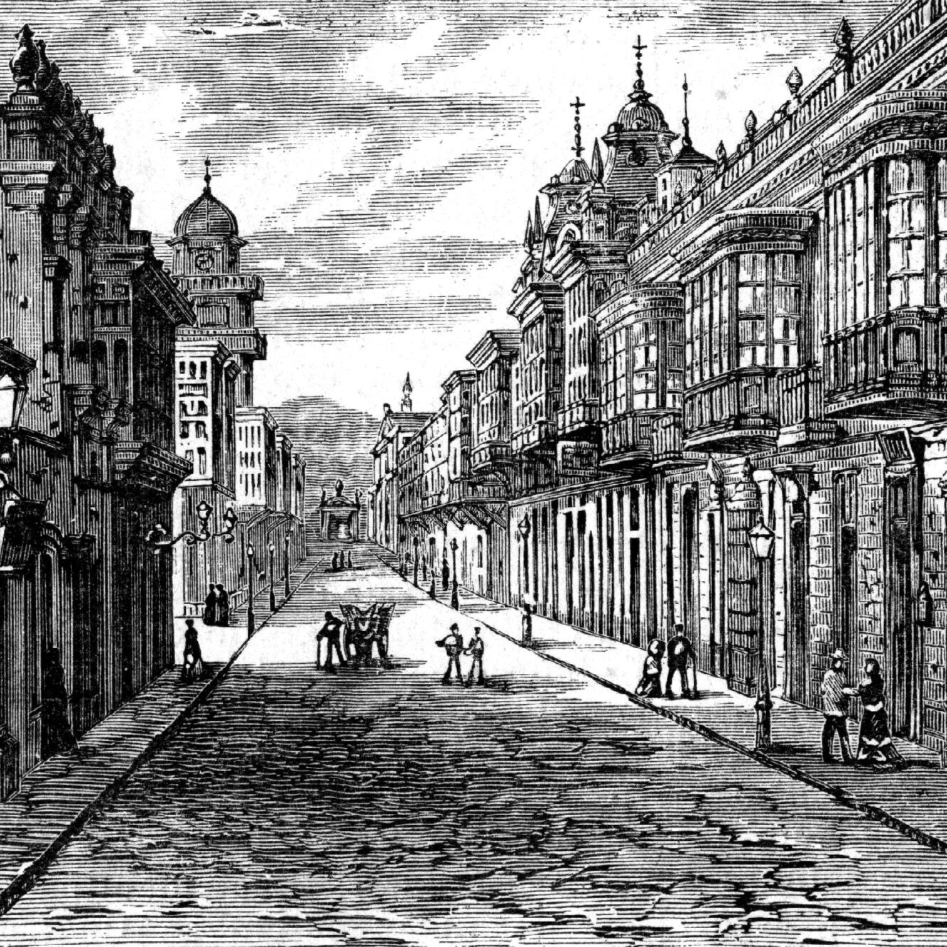 Calles de Coca and Bodegones, Lima