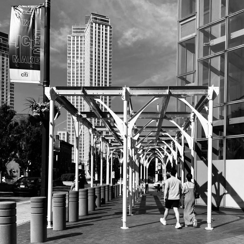 Urban Umbrella - Overall installation