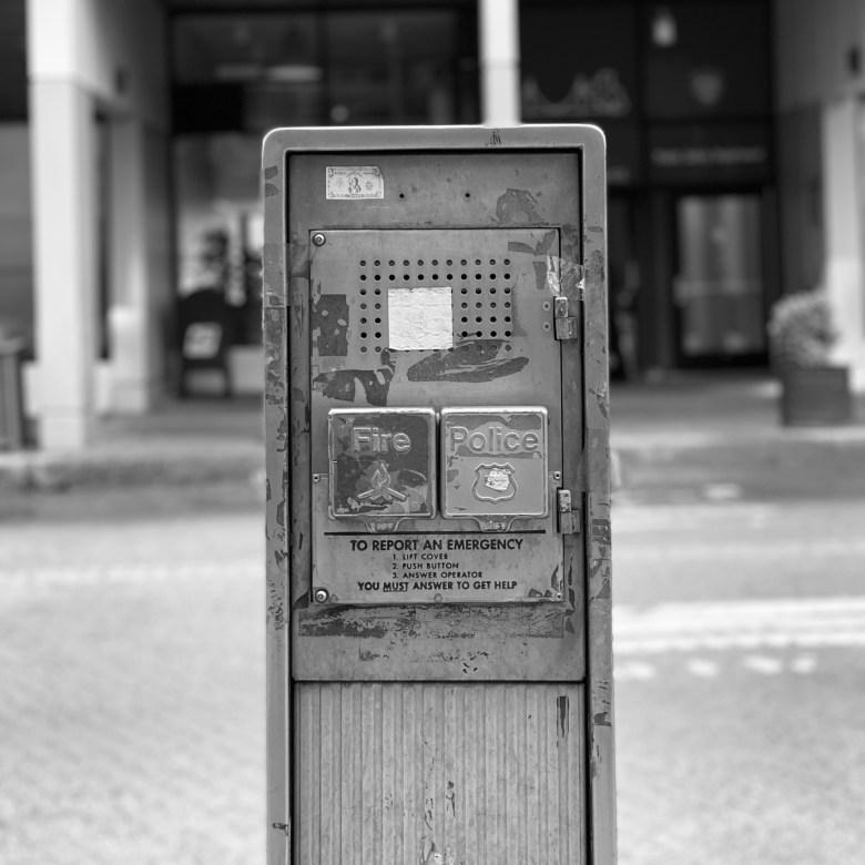 FDNY Callbox on Roosevelt Island