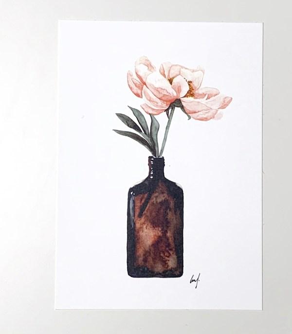 typopoetry Flower card
