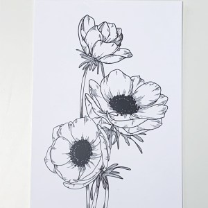 Blumenillustration