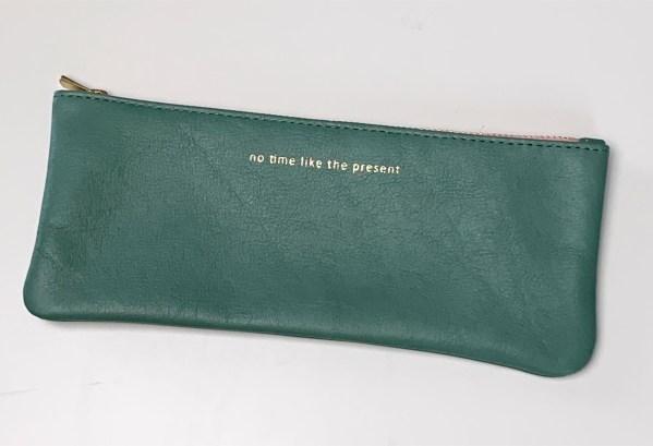 Stiftemäppchen grün