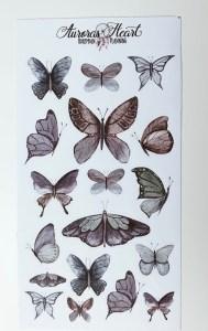 Schmetterling Sticker BuJo