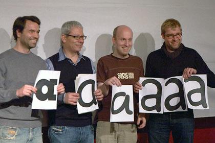 16. Berliner Typostammtisch: 4 Comic-Font-Designer