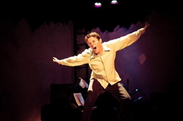 Tyran as Jamie Wellerstein in 'The Last Five Years'. Photo: Oliver Rosser.