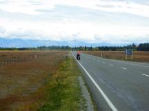 Approaching Tekapo