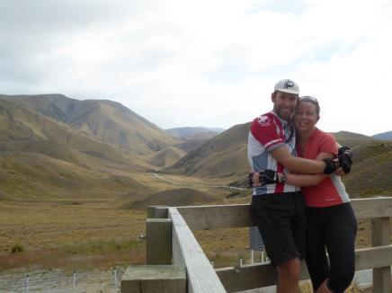 Top of the Lindis Pass