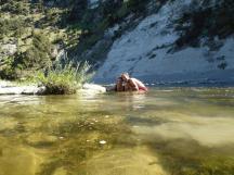 0146. River at Doneraille Park campsite