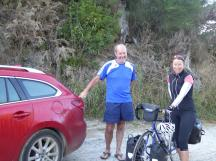 0274. John who drove Philippa & our panniers up the gravel track.