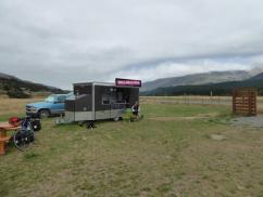 Coffee van in Wairau valley