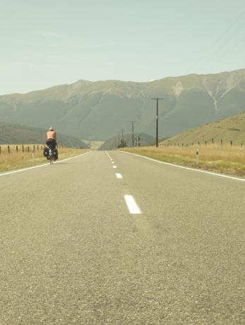 Riding into St Arnaud
