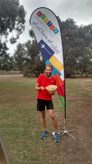 002. Easter ParkRun in Melbourne