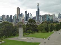 004. View of Melbourne