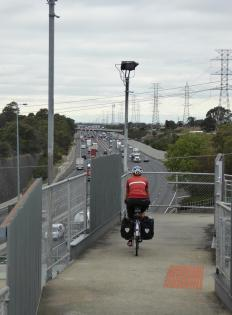 006. Cyclepath out of Melbourne