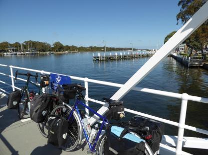 063. Bikes on the Raymond Island ferry