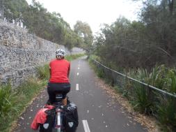 192. Sydney cycleway through the Olympic Park
