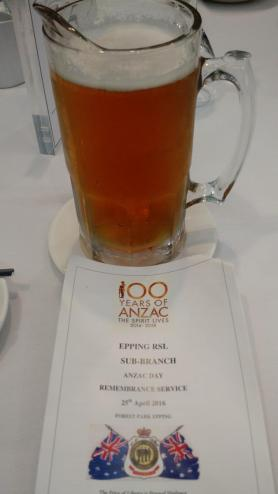 196. Anzac day breakfast at the Epping RSL