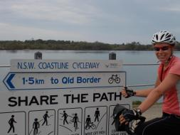 136. Nearly into QLD