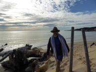 171. Tim on Moreton Island