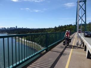 001. Leaving Vancouver on the Lions Gate Bridge