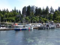 065. Leaving Quathiaski Cove
