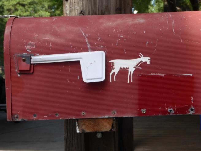 022. Mazama store mail box