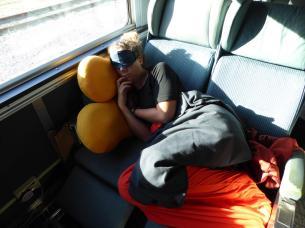103. Sleeping on the train