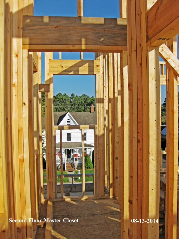 Scuppers Upper wall framing by Tyree House Plans