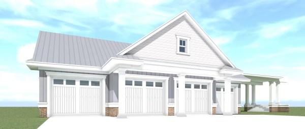 Farm Garage 01 Plan by Tyree House Plans