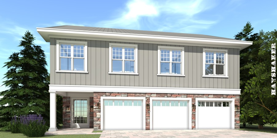 Hayshaker House Plan     Tyree House Plans Hayshaker House Plan   Tyree House Plans