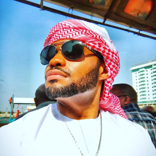 Thankful celebrity Tyrone Smith Dubai Gold Souk musician nyc positive JBR
