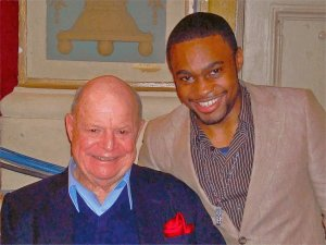 Celebrities Throwback RIP comedian Don Rickles with celebrity music producer Tyrone Smith