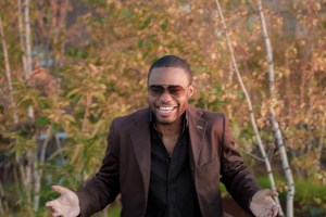 Fall Foliage capture by Paul Christopher Williams of celebrity musician producer influencer Tyrone Smith