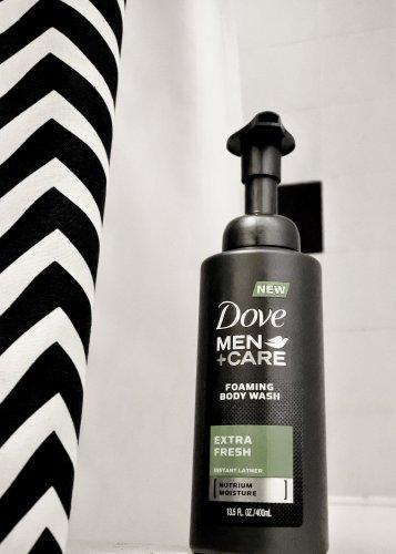 Dove Men+Care Foaming Body Wash - Tyrone Smith