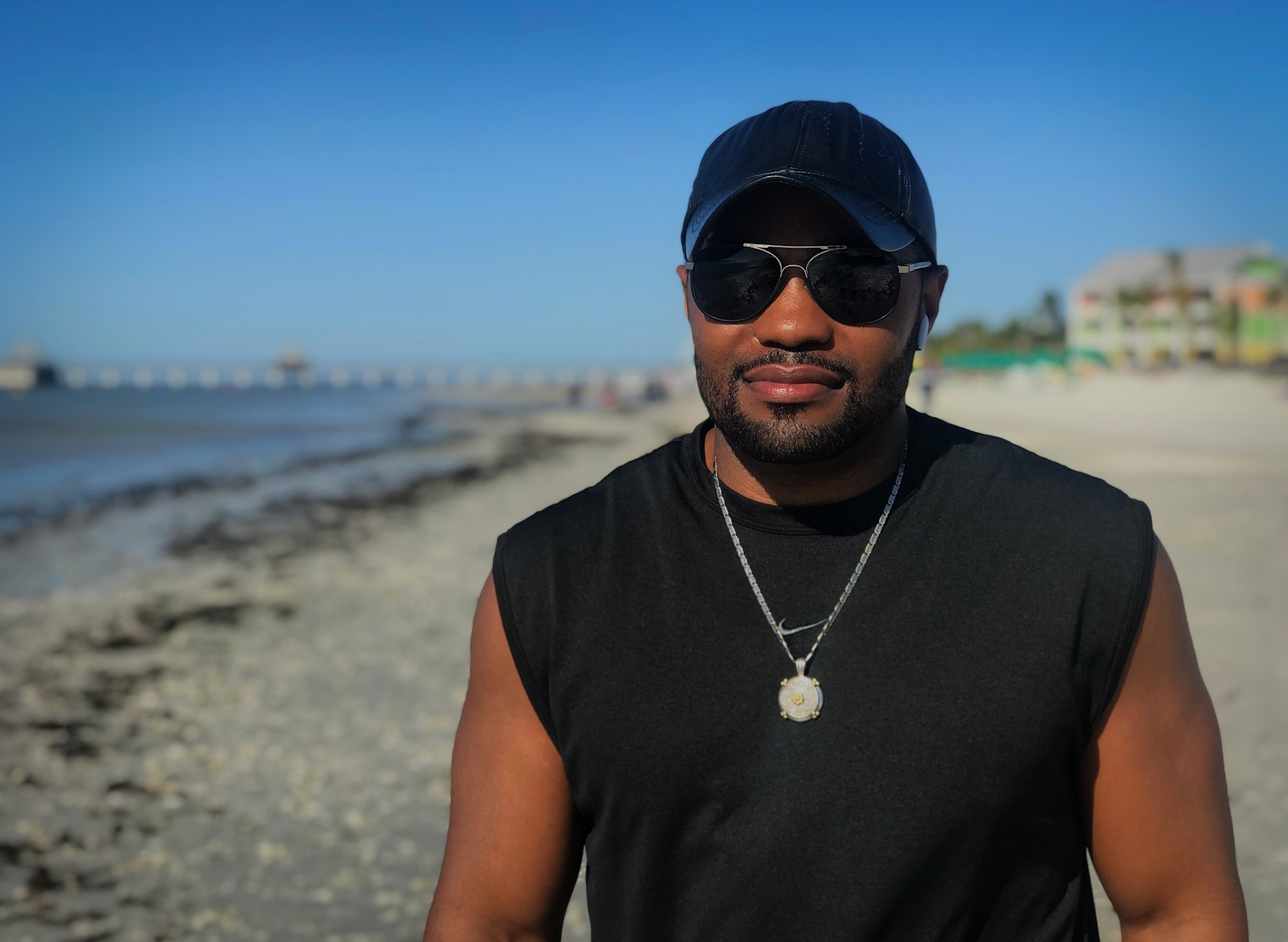 Just Do It - Tyrone Smith Florida Beachfront property Nike Louis Vuitton Apple Airpods