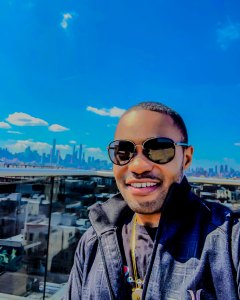 1 person, nyc, skyline, Tyrone Smith, Hurley, msuican, composer, celebrity, produer, andn sunglasses
