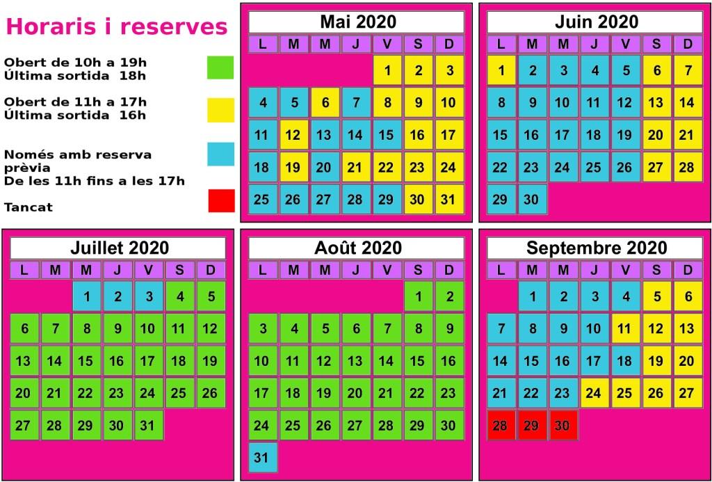 Calendario Tyrovol 2020