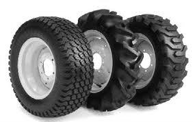 Different types of tractor tyres