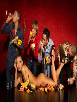 bigstock-Four-guys-having-fun-with-woma-29208389