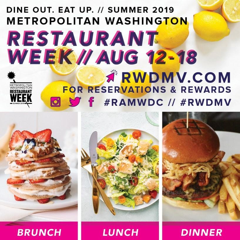 Dc Restaurant Week Summer 2019 Tysons Reston Area