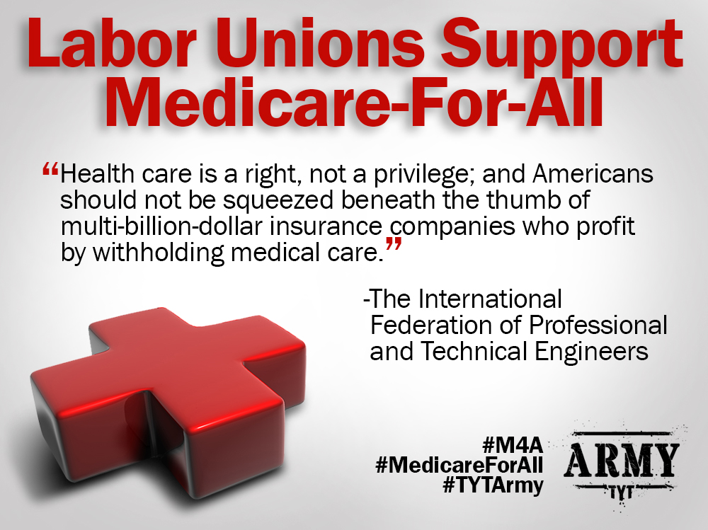 Unions Support Medicare For All
