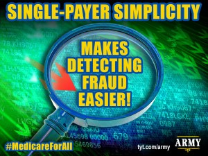 Simplicity of Single-Payer Medicare For All Makes Detecting Fraud Easier